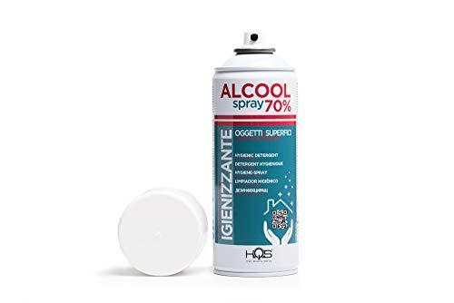 HQS BOMBOLETTA SPRAY IGIENIZZANTE ALCOOL 70% 400 ML (1)