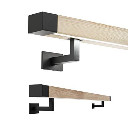 Led Holzhandlauf Handlauf mit Beleuchtung Eiche 50x40mm Echtholz geölt 200cm