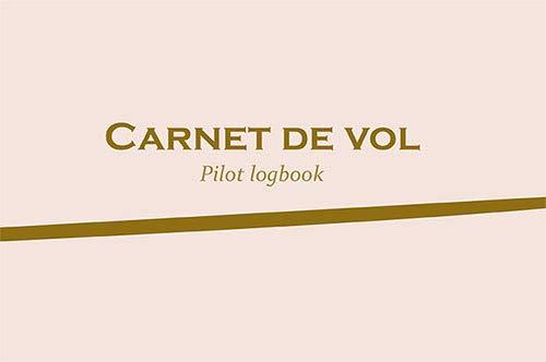 Carnet de vol : Pilote logbook