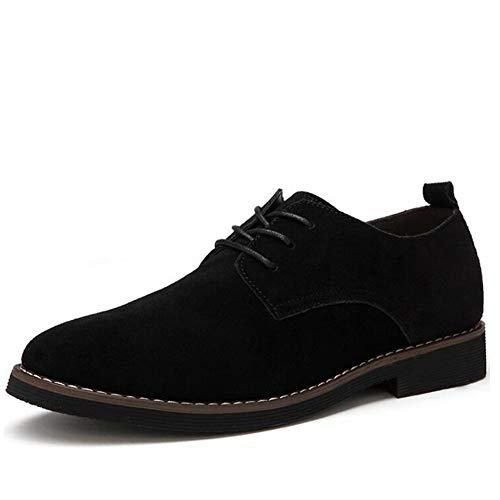 Business Formale Schuhe Männer Spitz Büro Schuhe Wildleder Retro Oxford Schuhe Männliche Kleid Schuhe