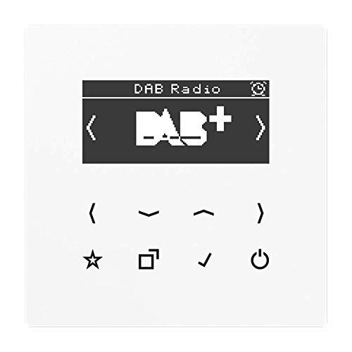 Jung Smart DAB+ Digitalradio DAB LS WW UKW,DAB+ Radio 4011377172364