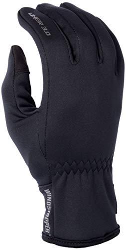 KLIM 3.0 Liner Men's Ski Snowmobile Gloves - Black/Large