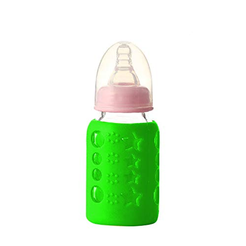 Best Prices! Safe-O-Kid - Pack of 1 - Silicone Baby Feeding Bottle Cover, Sleeve, Holder, Insulated ...