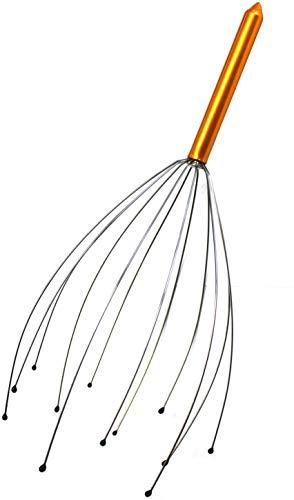 SSK superskunk Antiestrés de Cabeza/Masajeador Forma de Araña Cabezal con 12 púas/Regalo Ideal 24-48 Horas (1 Unidad)