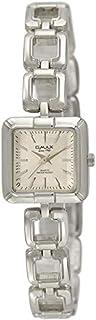 ساعة نساء من اوماكس, معدن, انالوج بعقارب, OMCTB016P008