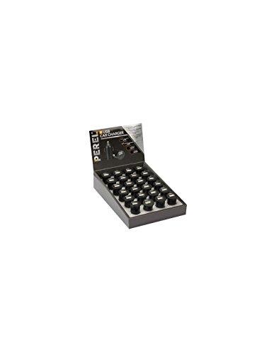 PEREL - CARSUSB14D display oplader met USB-aansluiting (5 V-1 A maximaal 5 W maximum) ingang maximaal 12 V DC (24 stuks) 175569