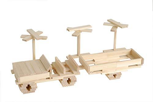 KAPLA-Holzbaukasten 200 Steine - 5