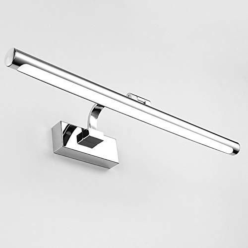 Led Spiegel Scheinwerfer Badezimmerspiegel Beleuchtung Wand WC Spiegel Licht Badewanne IP44 wasserdicht Spiegel Scheinwerfer Wandleuchte erhöht Spiegel Schrank Licht-White light-52CM