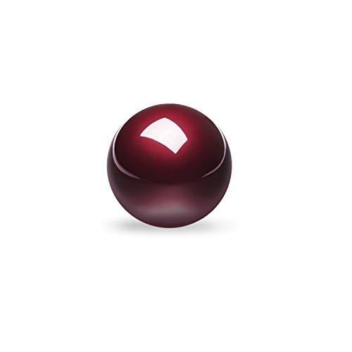 ぺリックス PERIPRO-304 55 mmトラックボール 光沢仕上げ レッド 他社製55mmトラックボールマウスと互換性あり【正規保証品】