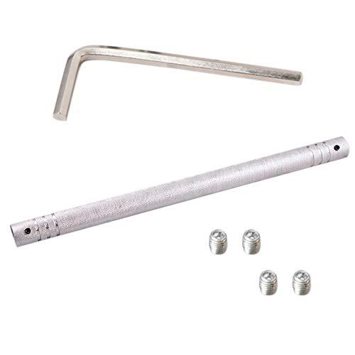 Huante - Barra de conexión para barra de pesas de 50 cm, accesorios