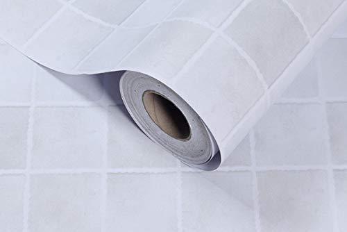 ivAZW Papeles de Pared Impermeables para Cocina, Vinilo de PVC extraíble, Papel Tapiz Autoadhesivo para Azulejos, baño, Inodoro, Adhesivo para Pared 10