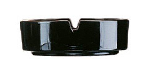 Stapelbarer Aschenbecher φ107 schwarz 12643