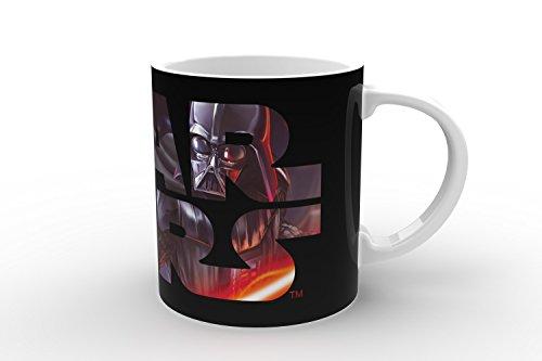 Star Wars 21553 Darth Vader Magic-Mug Keramiktasse in Geschenkverpackung, 12 x 9 x 10 cm