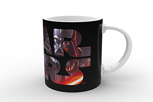 Star Wars 21553 Darth Vader Magic-Mug Keramiktasse in Geschenkverpackung, 12 x 9 x 10 cm