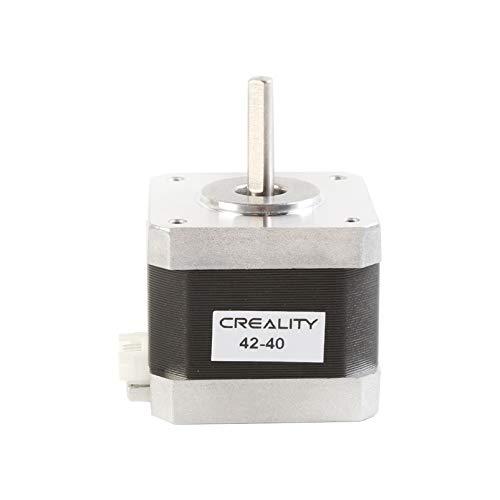 Creality Imprimante 3D 42-40 Moteur pas à pas, 2 Phases 1A 1,8 Degrés 0,4 N.M Moteur pas à pas pour Extrudeuse d'imprimante 3D, Compatible avec l'axe E des Séries CR-10 et Ender-3