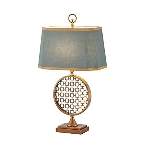 SPNEC Lámpara de Mesa Moderna Modelo de diseño Americano Decoración de la habitación Sala de Estudio Sala de Estar Dormitorio de Noche Mesa de luz nórdica