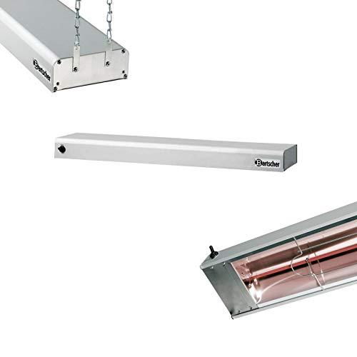 Bartscher Infrarot-Wärmebrücke 920 mm breit / ohne Füße - 114002
