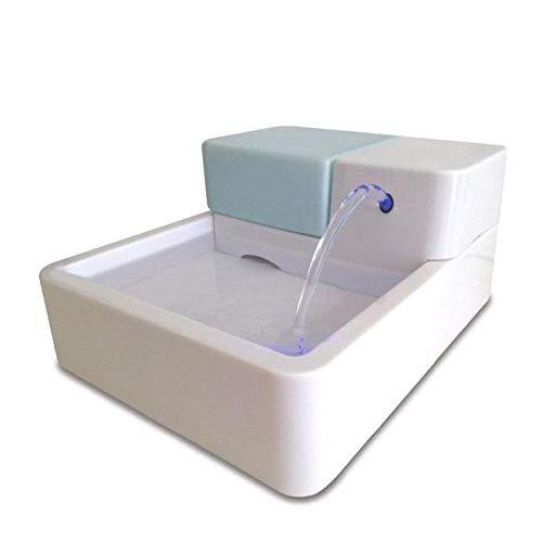 FairOnly 1.8L LED UV Sterilization Automatic CAT Dog Bird Kitten Water Drinking Fountain PET Bowl Drink Dish Filter White
