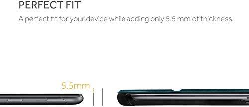 EasyAcc Hülle für Huawei Mediapad T5 10, Ultra Schlank Schutzhülle Case mit Zwei Einstellbarem Standfunktion für Huawei Mediapad T5 10 Zoll 2018, Pfauenblau