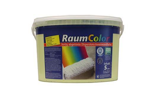 Wilckens Raumcolor Wandfarbe Dispersions-Innenfarbe 5 Liter Farbton Wählbar, Farbe:Limette