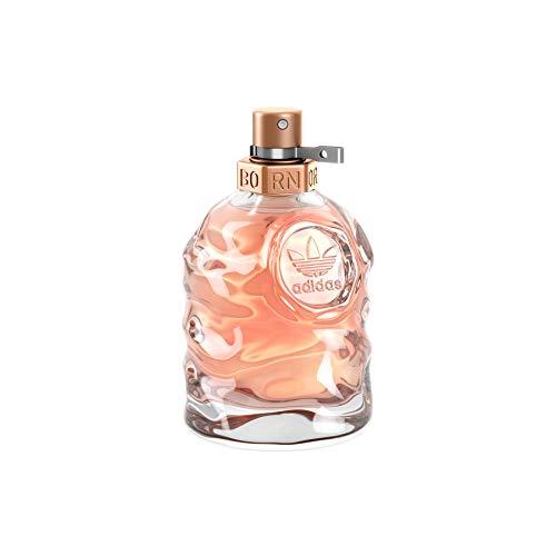 adidas Born Original Eau de Toilette – Fruchtig-blumiges Damen Parfüm mit explosivem Mix aus kontrastierenden Düften – 1 x 50 ml
