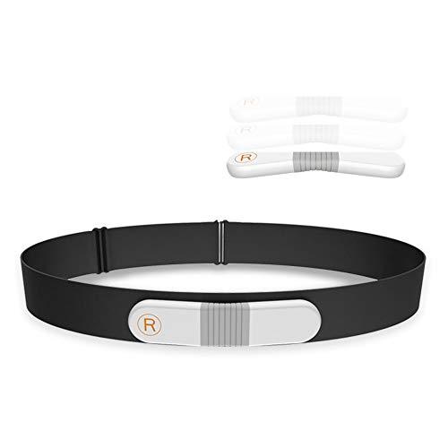 ViATOM Pulsómetro, Bluetooth/Ant+ HRM Run, Portatil ECG Monitor Correa de Pecho, Impermeable ANT+ Fitness Tracker con Alarma