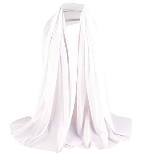 Lazzboy Frauen Abaya Islamischen Muslimischen Nahen Osten Hijab Scarf Wrap Headwear Muslim Damen Strecken Turban Hälfte Hals Wickeln Kopfbedeckung Haar Kopftuch Dubai Hidschab(S)