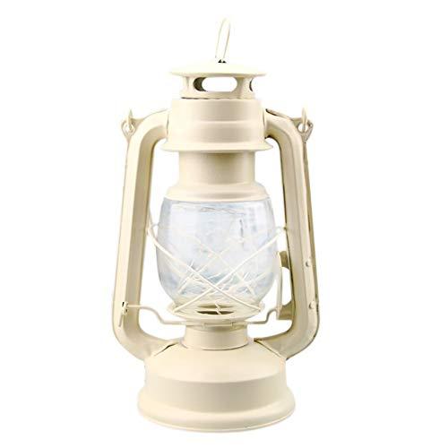 Blaward Altmodische elektrische Laternen-Öllampe Handkerzenlicht angetrieben durch Batterie Retro- antike Öllampen-Laternennachtlichter