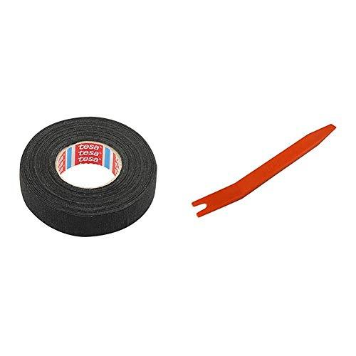 【Amazon.co.jp 限定】エーモン 音楽計画 クッションハーネステープ 約19mm×15m 厚さ約0.3mm (2386) & 【Amazon.co.jp 限定】 内張りはがし ポリプロピレン製ソフトタイプ (1427)【セット買い】