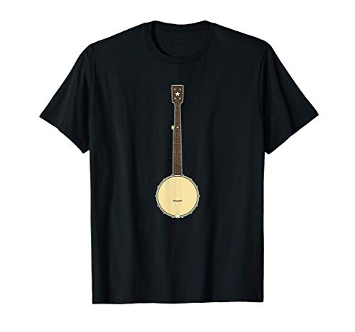 Open Back Banjo Old Time 5 String Clawhammer Banjo T-Shirt