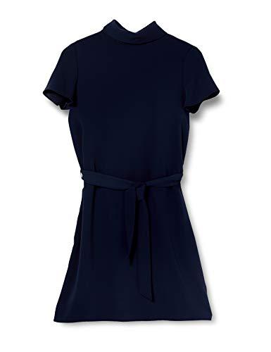 ESPRIT Collection Damen 030EO1E313 Kleid, 400/NAVY, 40