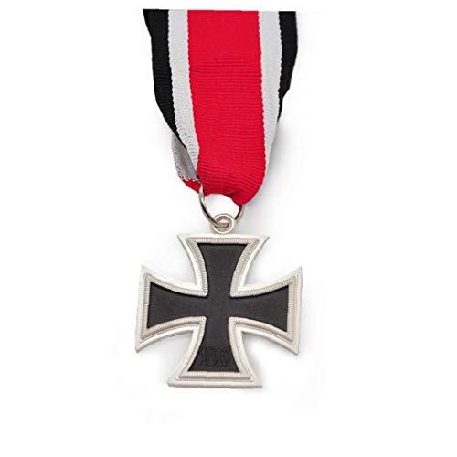 LAVALINK Medalla Militar 1pc La Segunda Guerra Mundial Alemán Guerra De La Cruz Moneda Medalla Merrit Caballeros Militares Hierro con Cinta De Colores