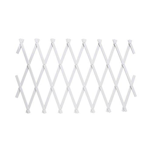 TRI Rank-Spalier Vario, Rankhilfe für Kletterpflanzen Rankgitter Rankleiter Rosensäule Rosenhilfe Rankgerüst, Kunststoff, verstellbar