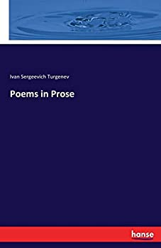 Poems in Prose 3744689018 Book Cover