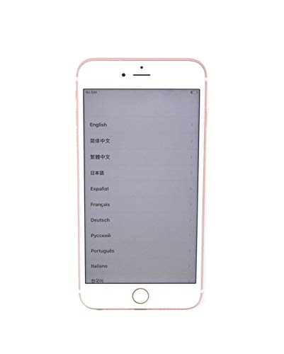 Apple iPhone 6S Plus, 64GB, Rose Gold - For AT&T / T-Mobile (Renewed)