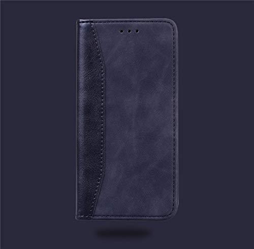 RZL Teléfono móvil Fundas para iPhone Pro MAX 12 12 Mini, imitación de Cuero de Vaca Funda de Cuero teléfono para el iPhone 11/11 Pro/Pro 11 MAX (Color : Negro, Material : For iPhone 11)