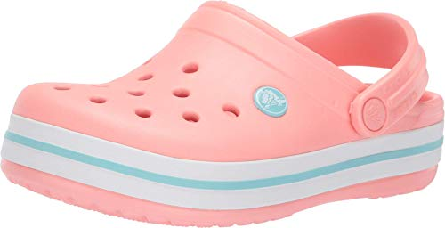 Crocs Unisex-Kinder Crocband Clogs, Pink (Melon/Ice Blue 7h5), 25/26