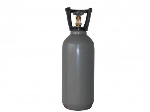 Co2 Stahlflasche 10 kg Steigrohr kurz gefüllt - UN1013 Kohlendioxid Kohlensäure