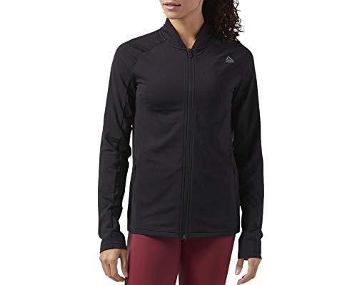 Reebok Damen Trainingsjacke schwarz L