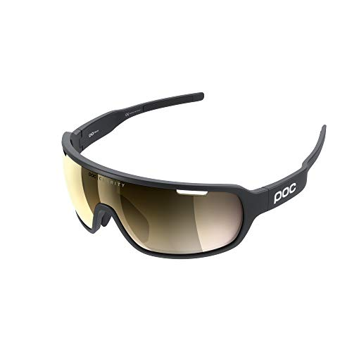 POC Do Blade Occhiali da Sole, Unisex-Adulto, Uranium Black/Nero, VGM
