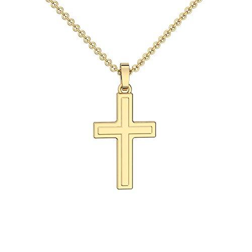 Amoonìc -  Kreuz Kette Gold 333