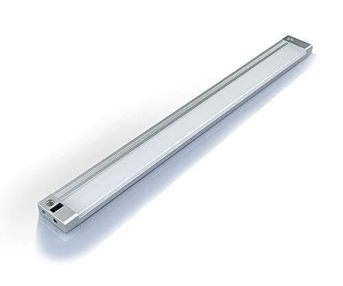 Led Unterbauleuchte mit Sensor 4W 4000k Naturweiß, küchenlampe Berührungsloser Schalter IR-Sensor Küchenleiste Schrankbeleuchtung für Küche Schränke Schaufenster, 313mm[Energieklasse A+]