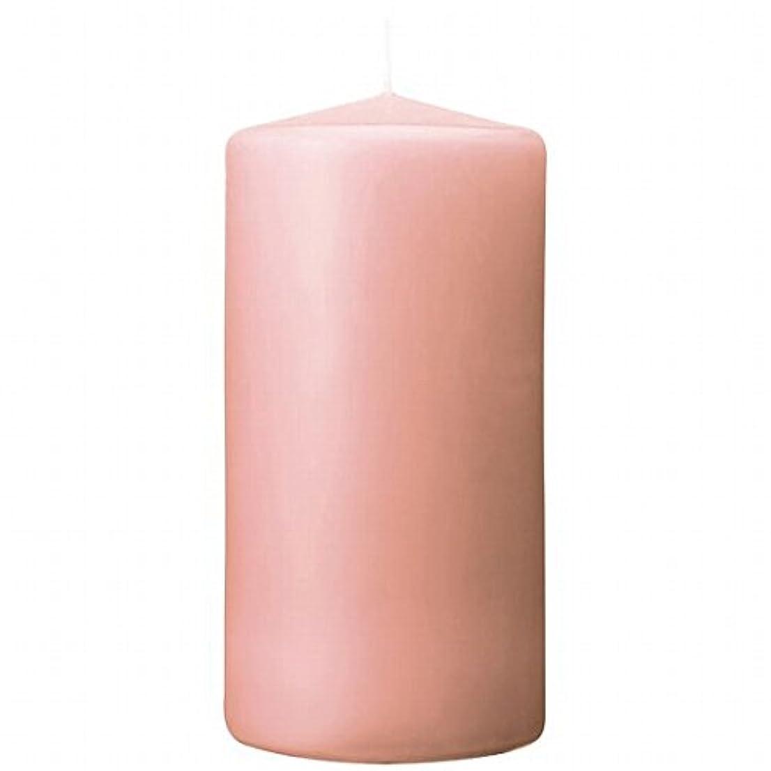 ハック連結するシャーロットブロンテカメヤマキャンドル(kameyama candle) 3×6ベルトップピラーキャンドル 「 ピーチアンバ 」