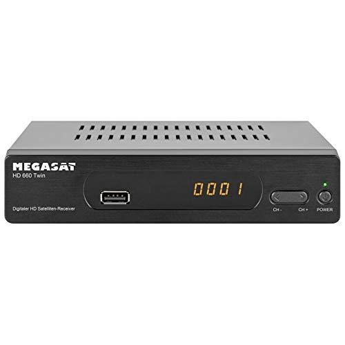Megasat HD 660 Twin SAT-Receiver Aufnahmefunktion, Ethernet-Anschluss Anzahl Tuner: 2
