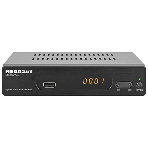 Megasat HD 660 Twin Sat-Receiver Aufnahmefunktion, Ethernet-
