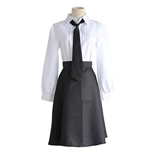 Y & Z wit shirt zwart korte groep halloween kostuum carnaval kostuum volledige set