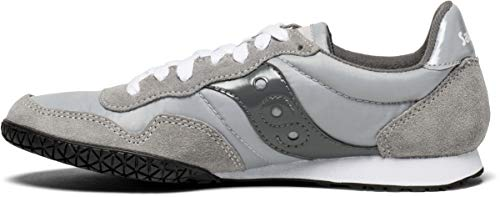 Saucony Originals womens Bullet Sneaker, grey, 8.5 Medium US