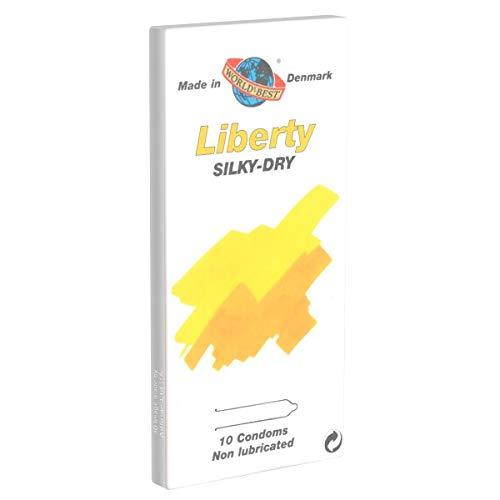 Liberty Silky Dry 10 Kondome ohne Gleitmittel