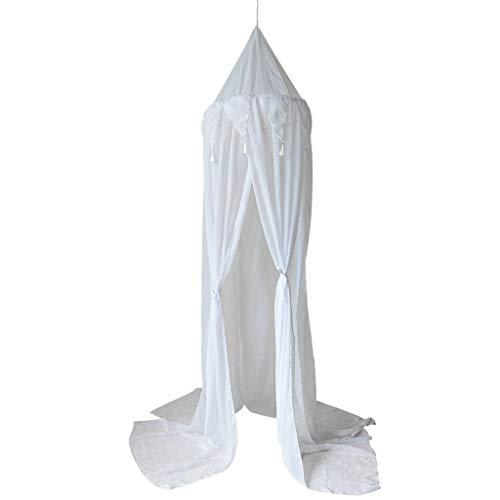 Gwxevce Cot Canopy Hanging Mosquito Net para Cot Nook Castle Game Carpa Decoración Blanco