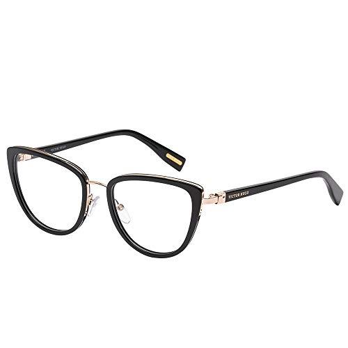 Armação Para Óculos Victor Hugo Em Metal E Plástico